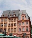 Funktion von Neckarsteinach-Haus in Deutschland Stockbild