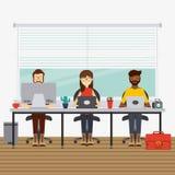 Funktionsduglig design för folk Arkivbild