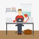 Funktionsduglig design för folk Arkivbilder