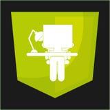 Funktionsduglig design för kontor vektor illustrationer
