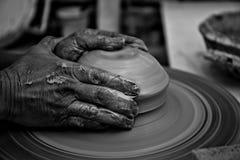Funktionsduglig keramiker Fotografering för Bildbyråer
