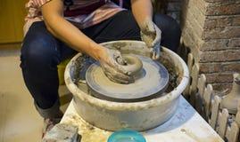 Funktionsduglig lera för keramiker Royaltyfri Fotografi