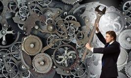Funktionsduglig mekanism Royaltyfri Foto