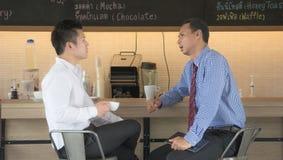 Funktionsdugligt möte för affärsman Arkivbild