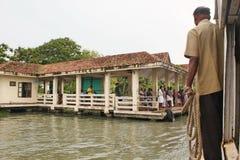 Funktionsläge av transport i Cochin, Kerala, Indien Royaltyfri Bild
