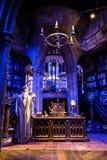 Funktionsraum von Professor Albus Dumbledore stockbild