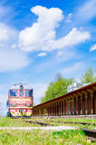 Funktionsunfähiger Bahnhof in Haapsalu, Estland lizenzfreie stockbilder