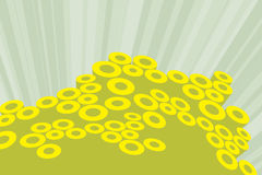 Funky. Disco funky background Stock Photos