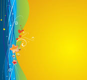 Funky abstract background Stock Images