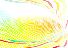 Funky abstract background Stock Photo
