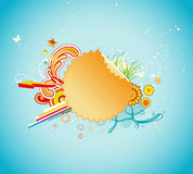 Funky abstract background Royalty Free Stock Image