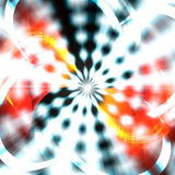 Funky Abstract Vortex. A bright abstract vortex illustration that radiates from the center Stock Images