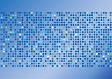 Funky Achtergrond van Cirkels Royalty-vrije Stock Foto