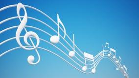 Funky Achtergrond van de Muziek Royalty-vrije Stock Afbeelding