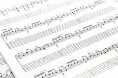 Funky Achtergrond van de Muziek Royalty-vrije Stock Fotografie