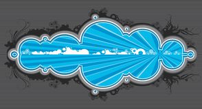 Funky banner Royalty Free Stock Photos