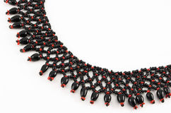 Funky bead necklace Stock Photos