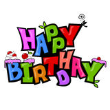 Funky birthday style Royalty Free Stock Photography