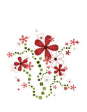 Funky bloemen Royalty-vrije Stock Fotografie