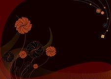Funky bloemen Stock Fotografie