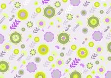 Funky bloemen Stock Afbeeldingen