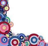 Funky border for presentation vector illustration