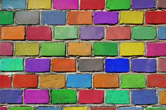Funky Bricks Royalty Free Stock Images