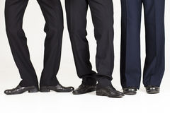 Funky businessman legs Royalty Free Stock Images