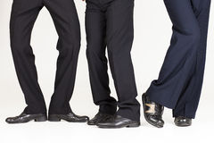 Funky businessman legs Royalty Free Stock Image