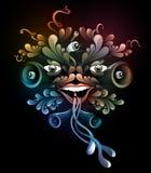 Funky Carnaval illustratie vector illustratie