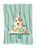 Funky christmas art Royalty Free Stock Images
