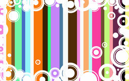 Funky Circle Background Royalty Free Stock Photos