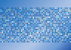 Funky Circles Background Royalty Free Stock Photo