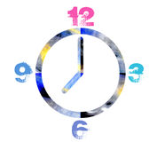 Funky Clock Stock Images