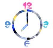 Funky Clock vector illustration
