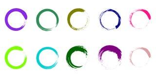 Funky Color Palette royalty free illustration