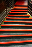 Funky Colored Stairs Royalty Free Stock Photo