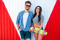Funky couple. Stock Images
