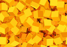 Funky cubes Stock Photo