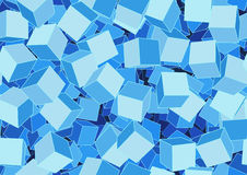 Funky cubes Royalty Free Stock Images