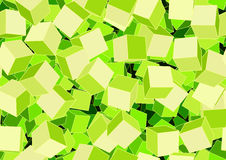 Funky cubes Royalty Free Stock Image