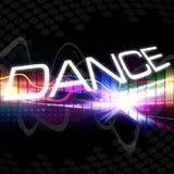 Funky Dance Montage vector illustration