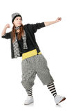 Funky dancer Royalty Free Stock Images