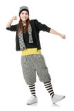 Funky dancer Royalty Free Stock Photo