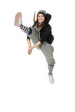 Funky dancer Royalty Free Stock Photography