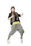 Funky dancer Stock Photography