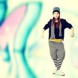 Funky dancer Stock Image