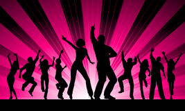 Funky dancers Royalty Free Stock Images