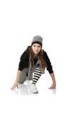 Funky danser Royalty-vrije Stock Foto