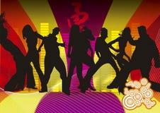 Funky dansers Vector Illustratie